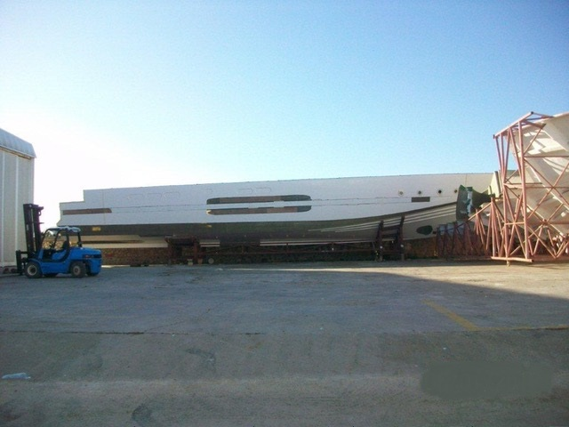Unfinished Project - MOTOR YACHT 153'ft / 46.57m