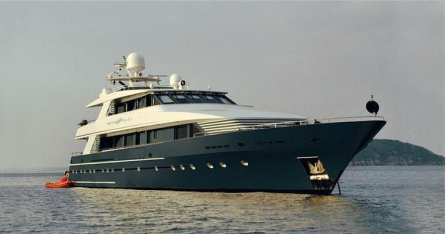 Dutch build - Euroship - Kees Cornelissen Shipyard Hollnad 115 ft 1991 - 2007