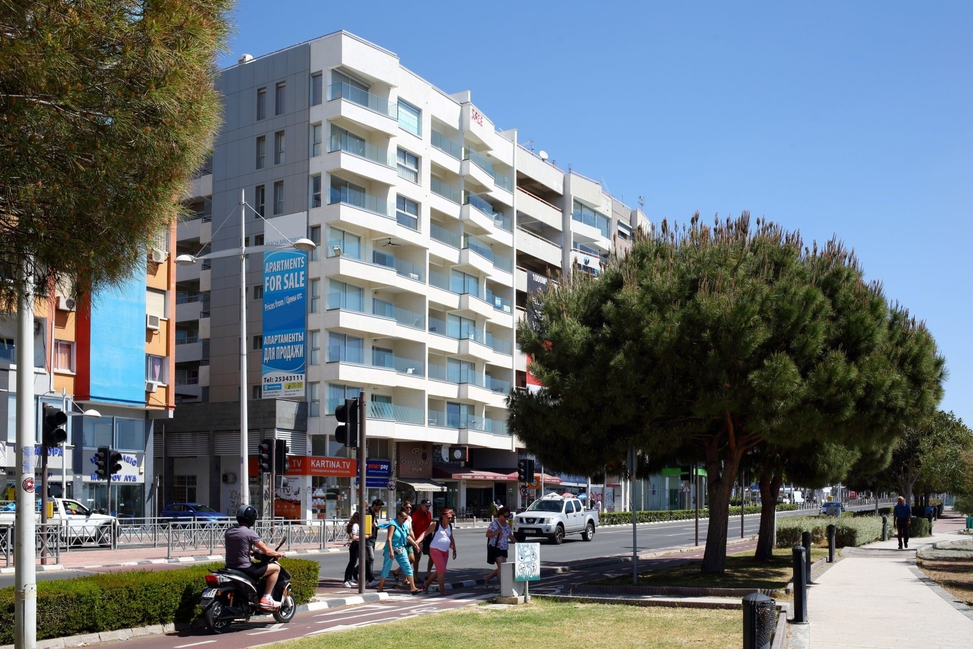 Penthouse Apartment at Eden Beach in Limassol, Cyprus