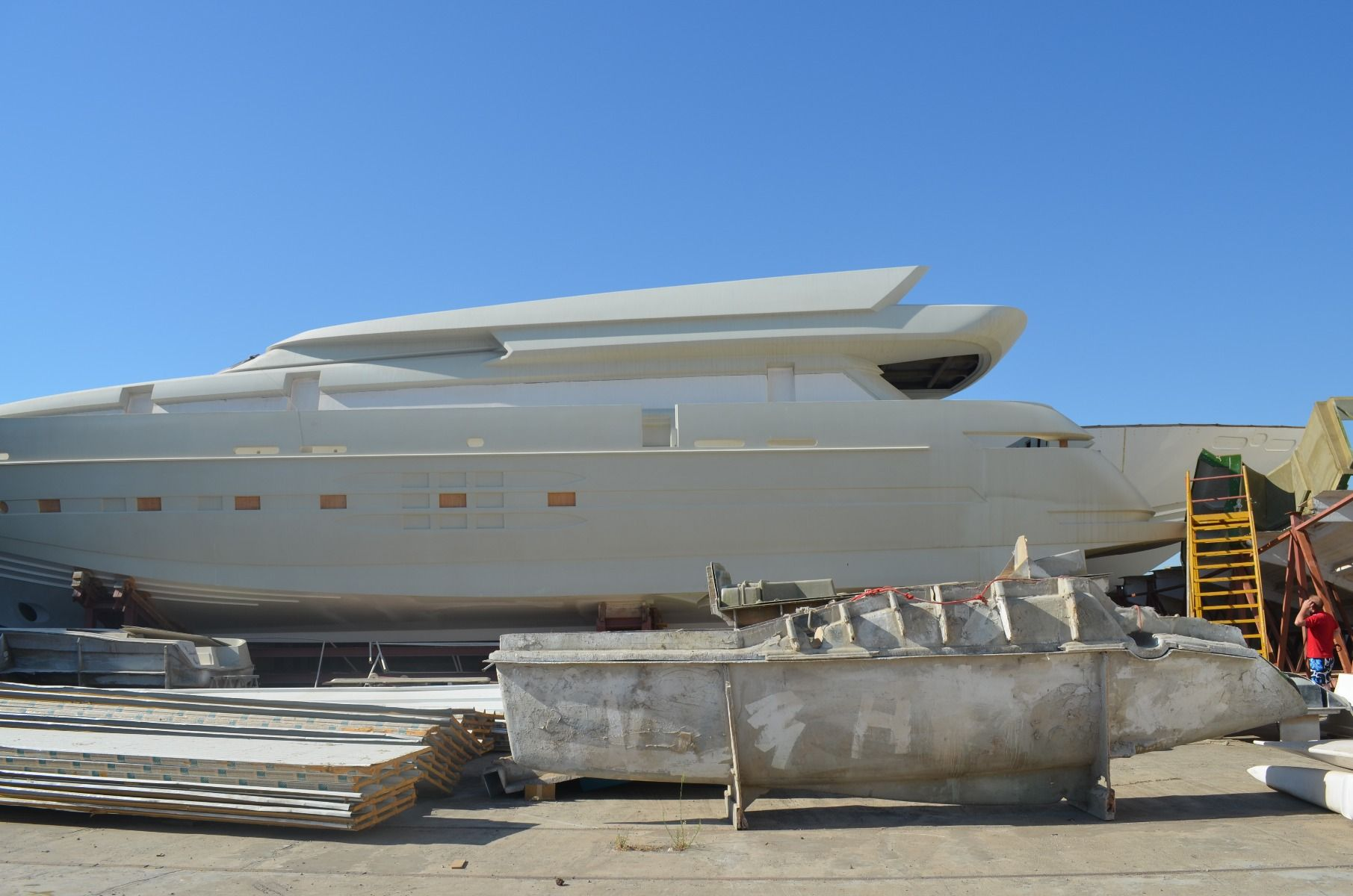 Unfinished Project - MOTOR YACHT 125'ft / 37m