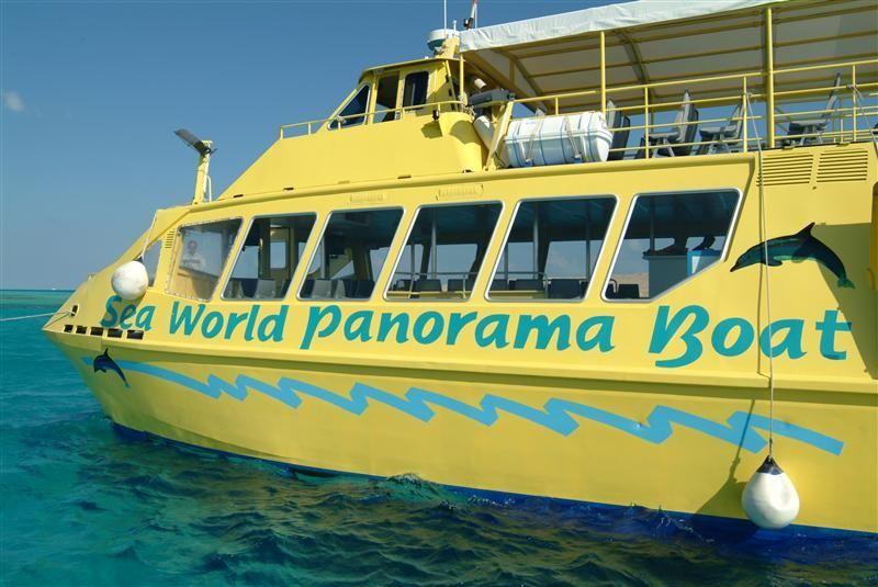 Aluminium Glass Bottom Boat Catamaran
